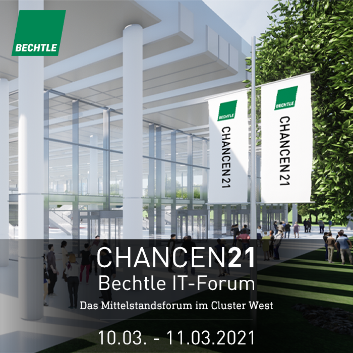 Premiere beim Bechtle IT-Forum CHANCEN21